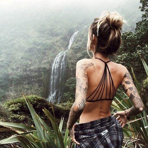 Girls with tattoos, sleeves, tattoo ideas