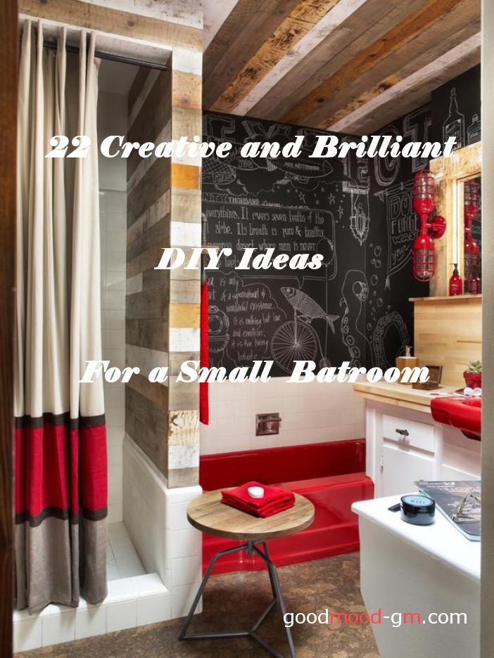 22 Creative And Brilliant DIY Ideas For A Small Bathroom