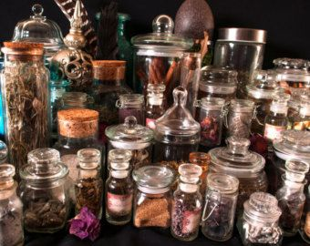 Wicca Herb Kit Witch Box Witchcraft Supplies by TheMagickCabinet