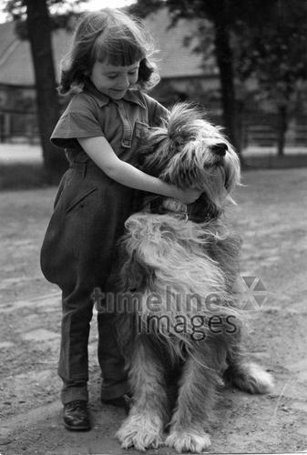 Dagmar Graefin Kalnein mit ihrem ungarischen Hirtenhund ullstein bild - Max Ehlert/Timeline Images #Freunde #friends #bestfriends #bff #Freundschaft #friendship #trust #Vertrauen #Hund #beste