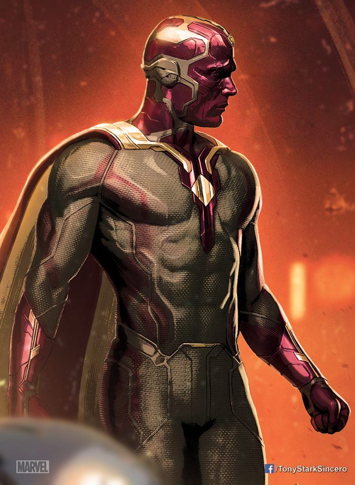 The Vision - Enormous Collection Of Avengers: Age Of Ultron Promo Art | Comicbook.com