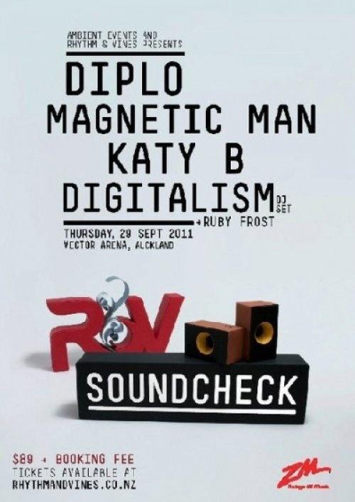 R&V SOUNDCHECK!