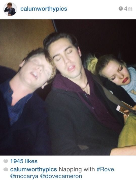 Calum Worthy, Ryan McCartan & Dove Cameron