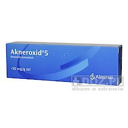 Akneroxid  5, 5%, żel, 50 g