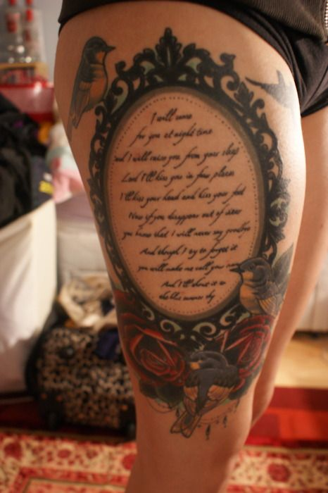 vintage+mirror+tattoo | images of frame tumblr tattoo pictures to pin on pinterest wallpaper