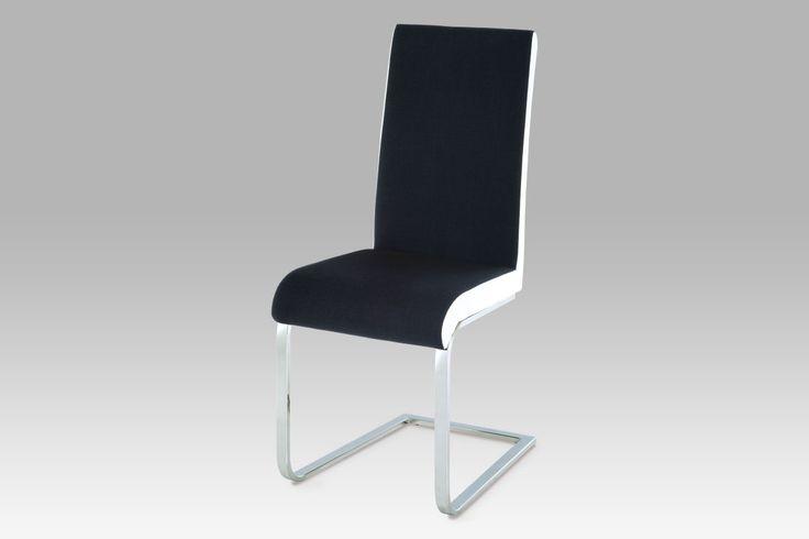HC-760 BKW Jídelní židle - kombinace látka a koženka