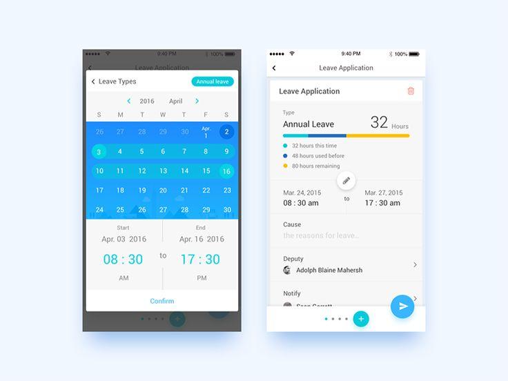 25+ parasta ideaa Pinterestissä Application calendrier iOS 7 - leave application