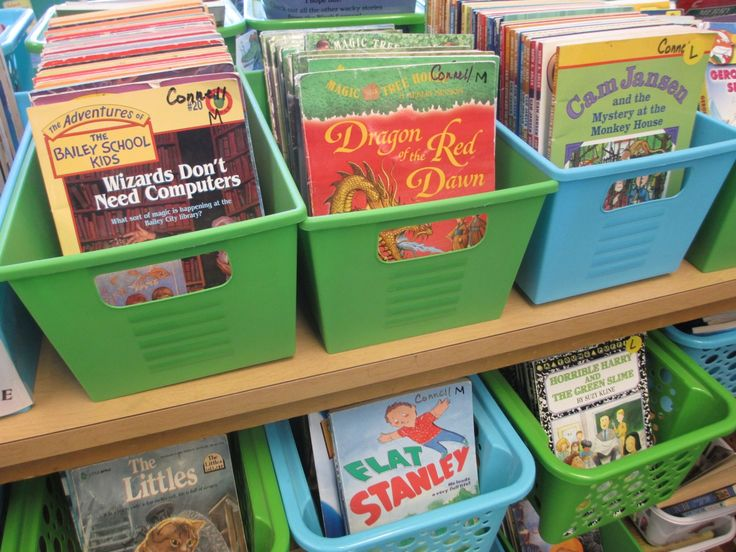 Tips on having an organized classroom library