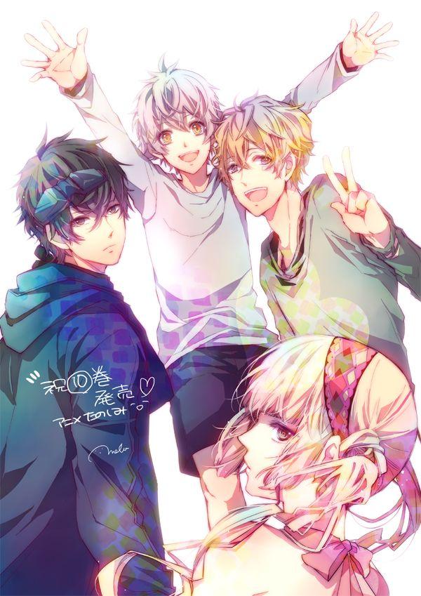 Gareki, Yogi, Nai & Tsukumo | Karneval | Anime & Manga