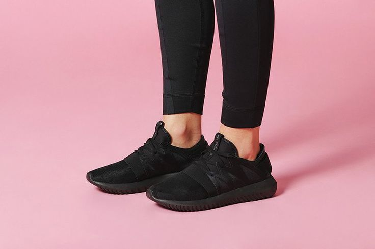 adidas Originals Women's Tubular Viral All Black