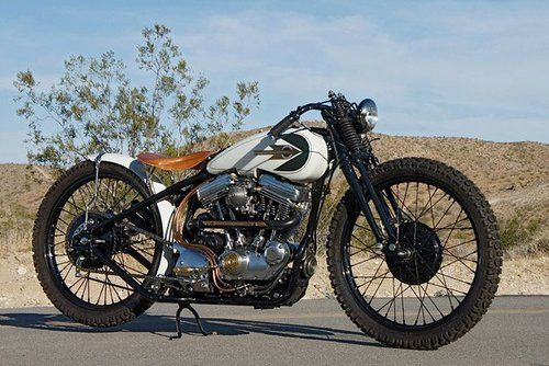 HD Tracker | Bobber Inspiration - Bobbers and Custom Motorcycles | highspeedlowdrag April 2013