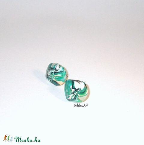 Meska - 'Stone' beszúrós fülbevaló bekka kézművestől