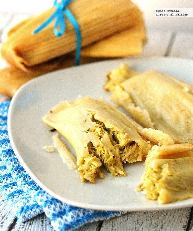 Receta para preparar tamales verdes con pollo utilizando la Thermomix. Con fotos del paso a paso y consejos de degustación