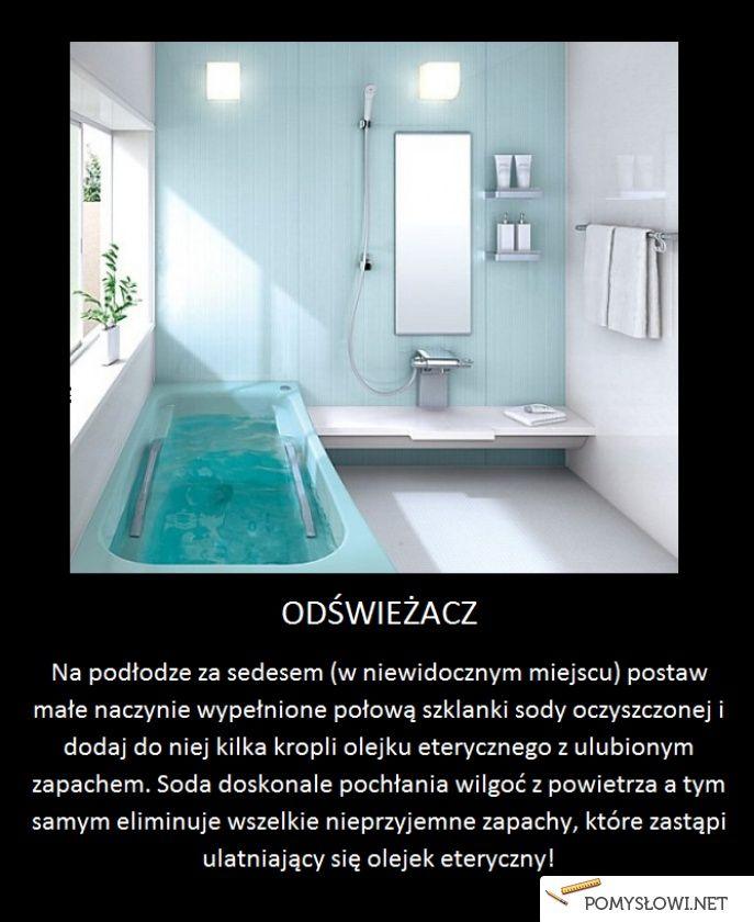 Sposób na pachnącą łazienkę! - Pomyslowi.net