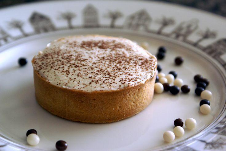 Tartelettes chocolat café. Ganache chocolat et crème mascarpone au café.. La recette par Chef Simon.