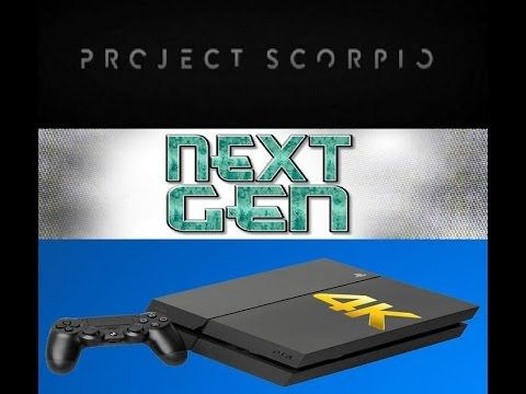 XBOX SCORPIO & PS 4K NEO - NO NEED TO BUY IT IF YOU DONT WANT TO