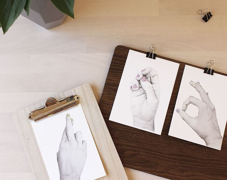 Hand No.1 / Hand No.2 / Hand No.3  #illustration #drawing #pencil #hands