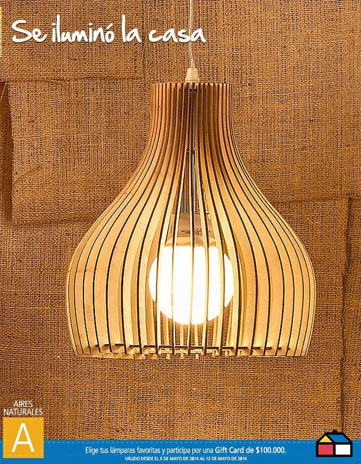#Concurso #Iluminacion me encanta,es ideal en mi espacio nuevo,en nuestro nidito que hace poco nos entregaron..amo la iluminacion bella que entrega ...amo todoooooo!! porfavor regalenme unaa!!