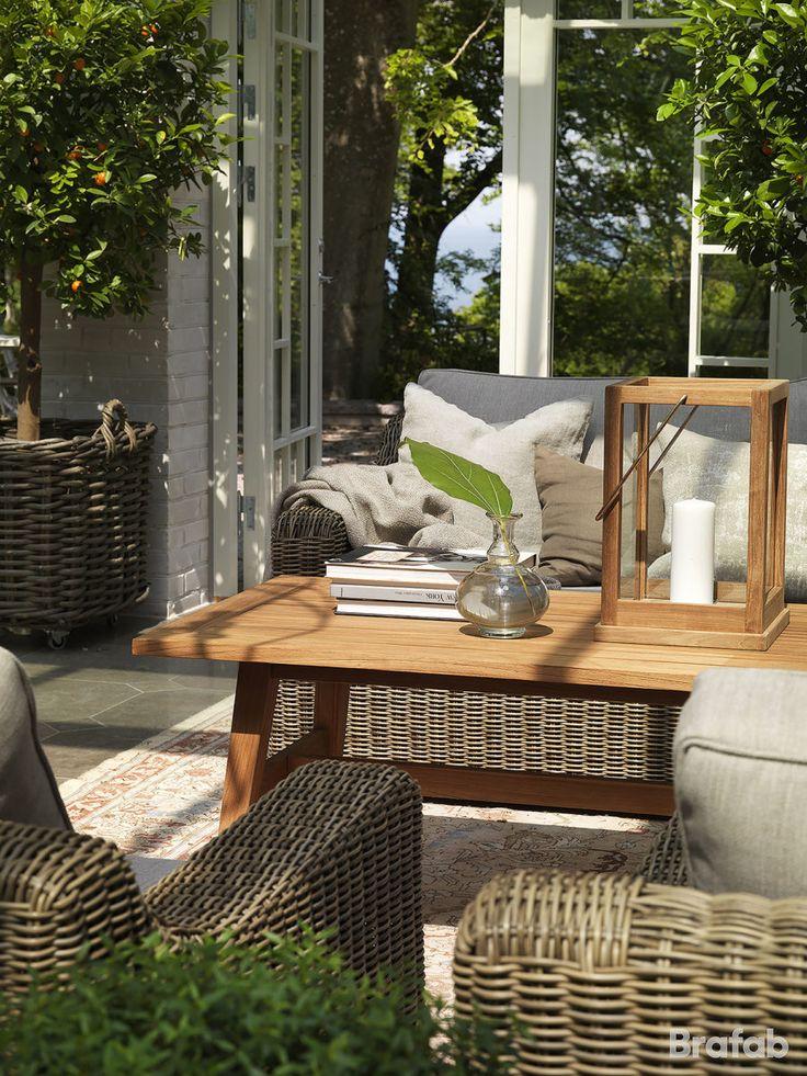 Glendon 3-sitssoffa rustik