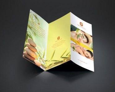 Best Spa Brochure Images On Pinterest Spa Brochure Brochures - Spa brochure templates