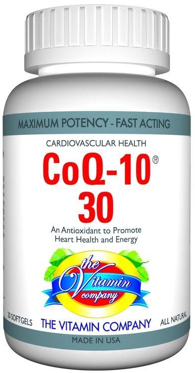 The Vitamin Company COQ-10 30 MG
