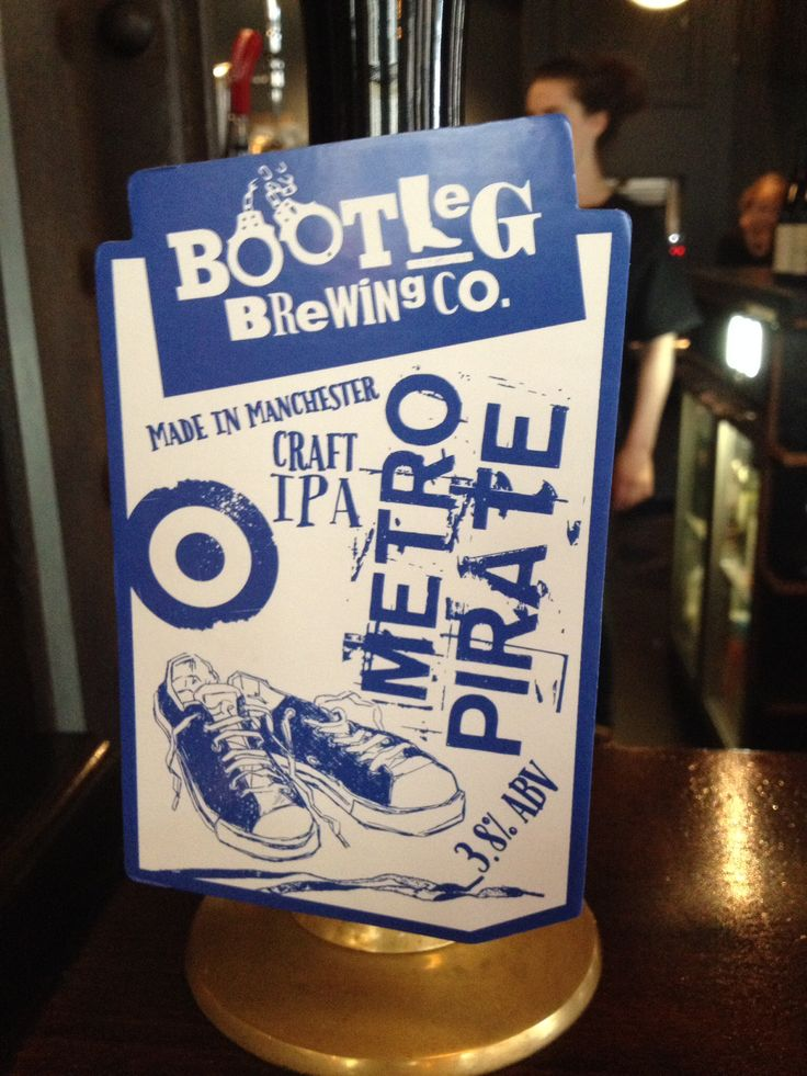 Bootleg Brewing Metro Pirate Pale Ale
