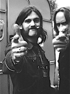 Lemmy with Rickey Medlocke1981
