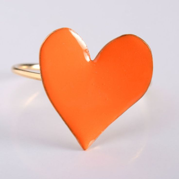 #BAGUE FLEUR D'ORANGER WITHLOVE #orange #ring #jewelry #monaco #love #colors #summer #spring #fun