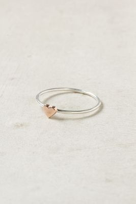 Promise Ring with first initials