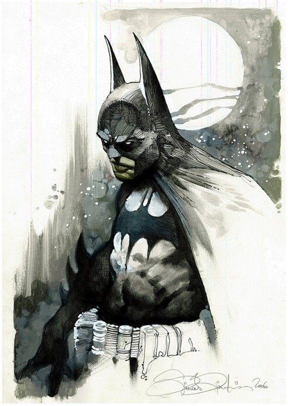 // Batman, by Simone Bianchi.