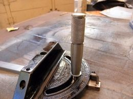 Miter Gauge Handle By Captainleeward    Table Saw Miter Gauge New  Handle Restoration.