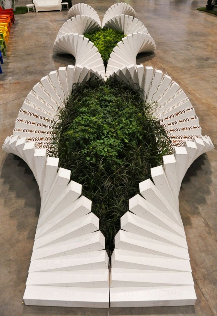 ♂ Interesting Canada Blooms Garden in Toronto design by Asensio Mah