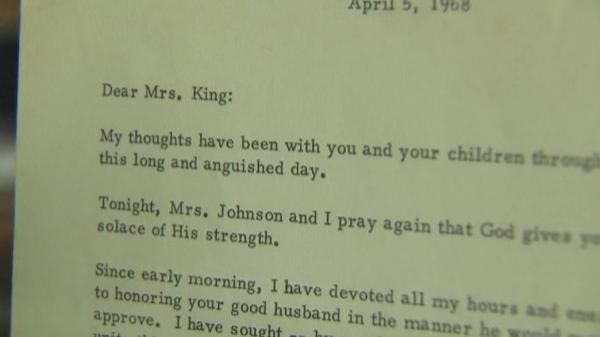 """By John Clarke FALLS CHURCH, Va. (Reuters) - A condolence letter from President Lyndon Johnson to the widow of slain civil rights leader the Rev. Martin Luther King Jr. was sold for $60,000 at auction on Thursday after a legal battle over the 47-year-old piece of correspondence. The typed letter from Johnson to Coretta Scott King is dated April 5, 1968, the day after King was gunned down in Memphis, Tennessee, by a white supremacist, triggering riots in cities across the United States. """"We…"""
