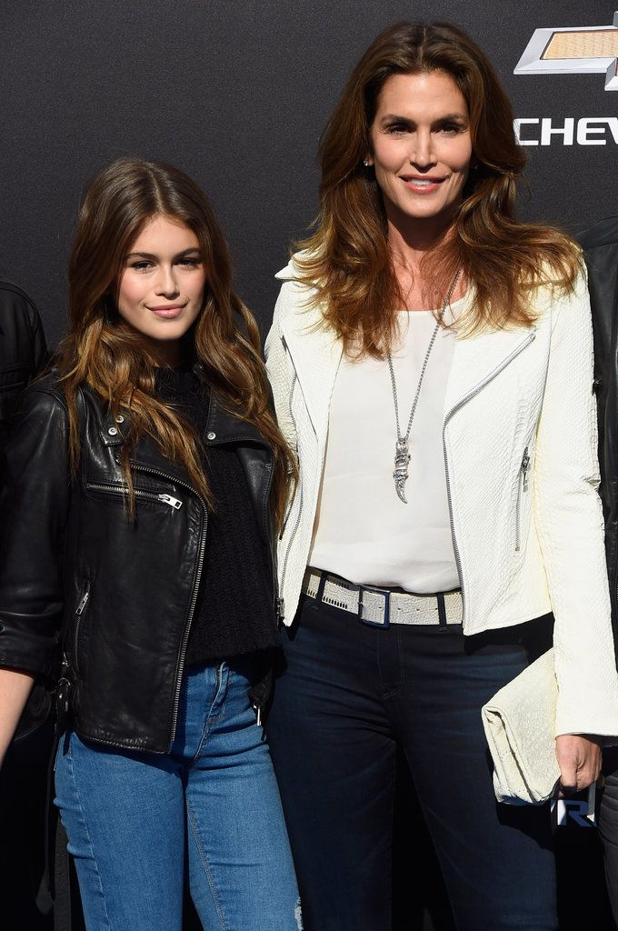 Cindy Crawford's daughter, Kaia Gerber, looks JUST like her! Click through to see their cute pictures.