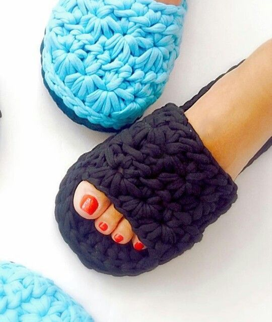 Videotutoriales – Pantunflas – Zapatillas – Trapillo – Crochet XXL – Comando Craft