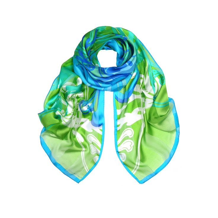 SS16 The Colours of Life silk scarf