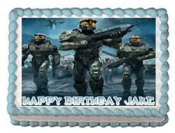Edible Cake Images Halo : Po?et nejlep?ich obrazk? na tema Halo Birthday Party Ideas ...