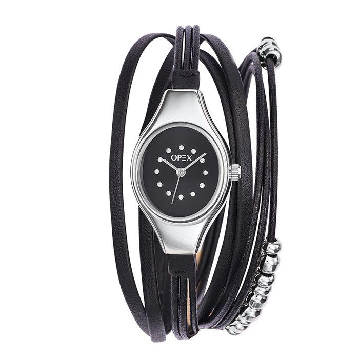 opex moderne filante cuir noir blanc et bi color