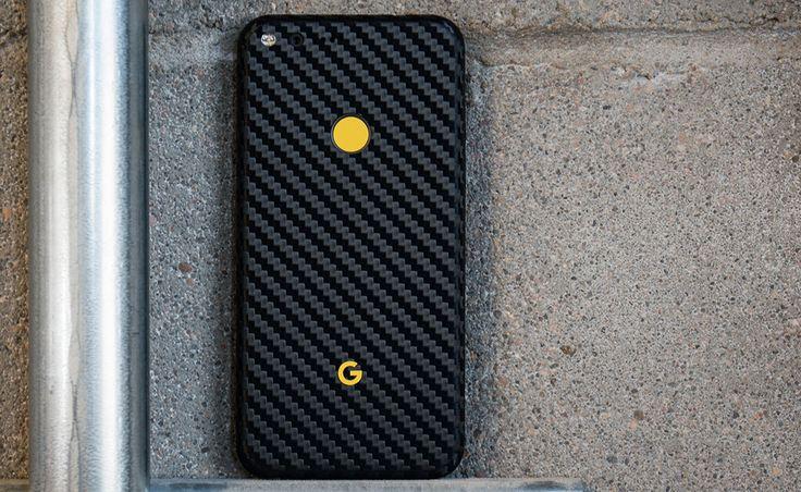 Folie Carbon 3M Black Google Pixel XL / Google Pixel