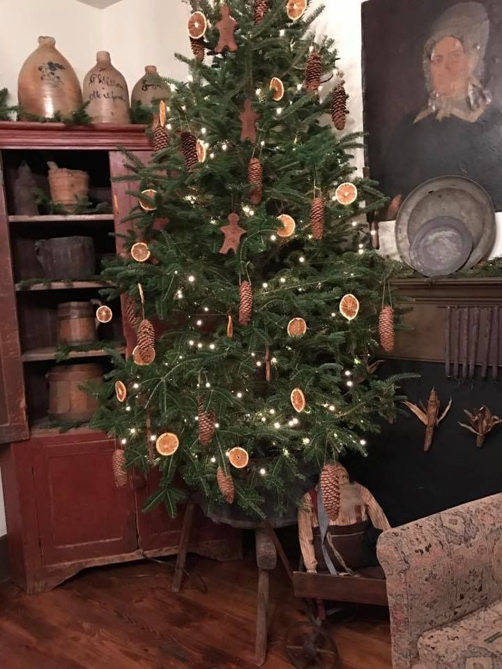 1337 best Primitive\/Colonial Christmas♥ images on Pinterest - primitive christmas decorations