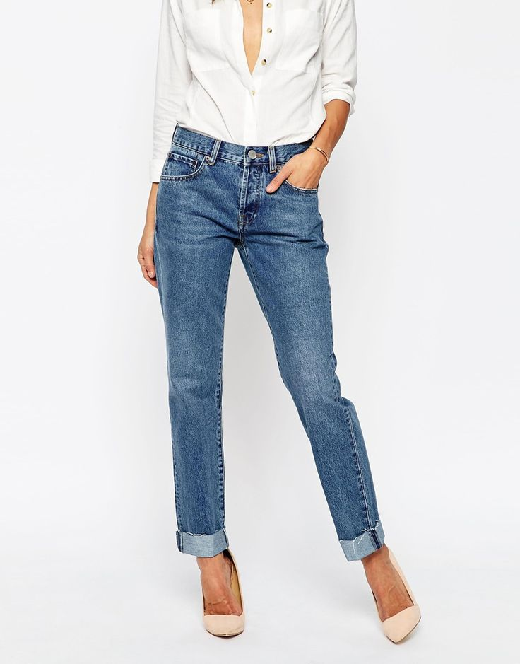 Image 1 of ASOS Carrot Boyfriend Jean