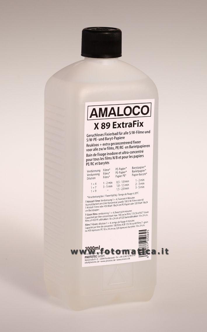 AMALOCO - X 89 - Fissaggio universale inodore - 1000 cc  http://www.fotomatica.it/contents/it/d138_chimici_amaloco.html