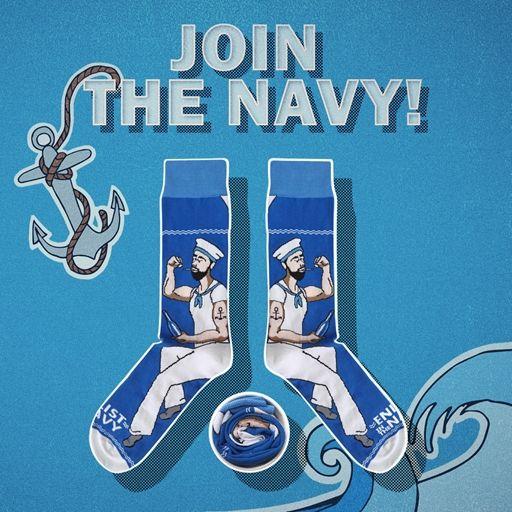 Join the navy [|] #cupofsox #skarpetki #skarpetka #socks #sock #womensocks #mensocks #koloroweskarpetki [|]
