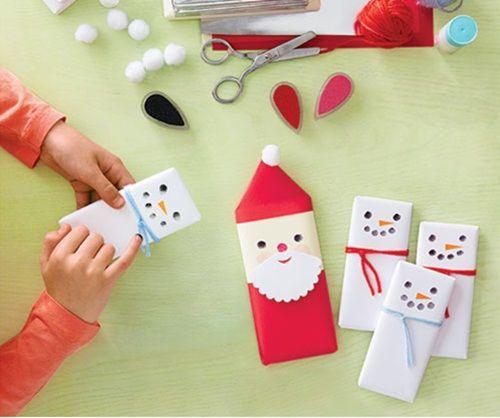 Manualidades f ciles para hacer con ni os en navidad - Manualidades con fieltro para navidad ...