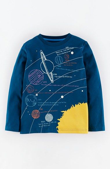 Mini Boden Glow-in-the-Dark Graphic Print Cotton Tee (Toddler Boys, Little Boys & Big Boys) available at #Nordstrom
