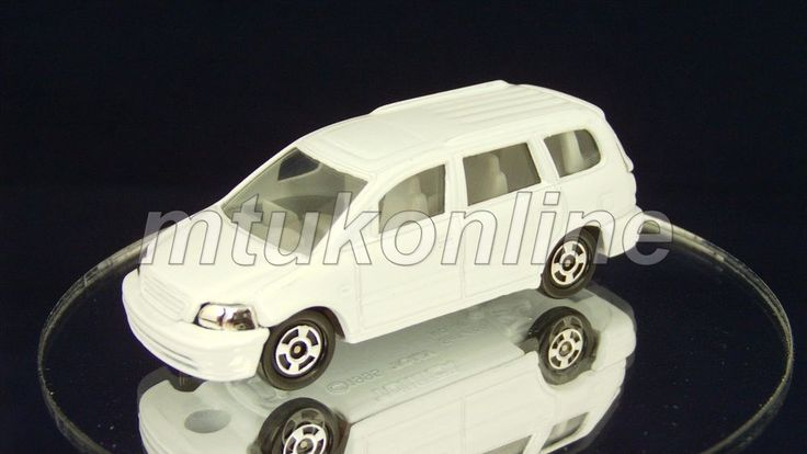 TOMICA 046D HONDA ODYSSEY RA1 | 1/66 | 46D-8 | HELLO MAC WHITE | 1999 CHINA
