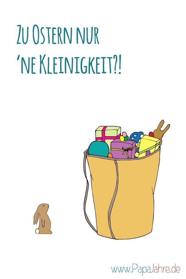 Weniger Geschenke an Ostern - wir wollen uns reduzieren...