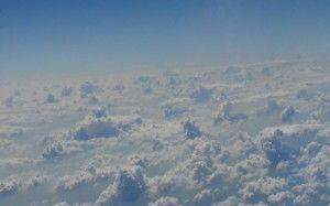 Clouds from Plane during flight from Srinagar to Mumbai