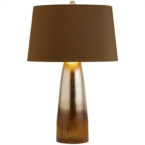 Arteriors home leopard silveria tapered glass table lamp arteriors home 44498 412