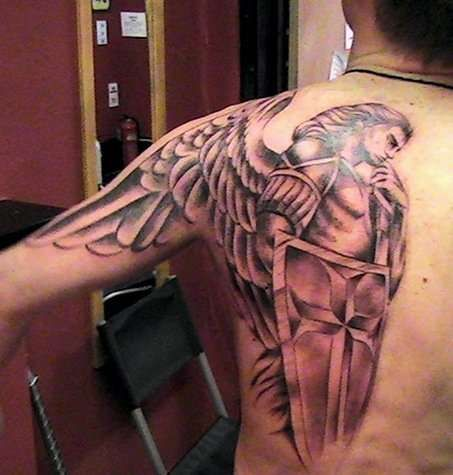 saint+michael+the+archangel+tattoo+for+men | Arc Angel Michael Tattoo